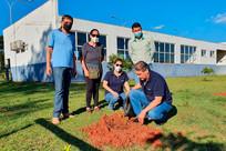 Gestores da Agraer visitam Centro de Formação para Agricultura Familiar em Glória de Dourados