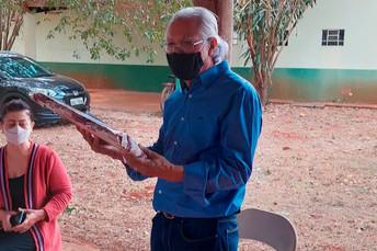 Colegas do Cepaer/Agraer fazem homenagem ao pesquisador e extensionista rural Ari Fialho