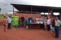 Agraer de Coxim realiza Dia de Campo sobre a utilização da Cultura de Mandioca
