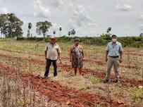 Equipe da Agraer realiza visita técnica em sítio no assentamento São Sebastião