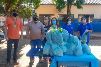Através da Agraer, escolas municipais de Angélica recebem alimentos do PNAE