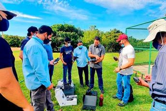 Drones vão potencializar trabalho dos técnicos da Agraer