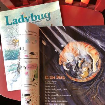 Ladybug Magazine illustration by Faith Pray