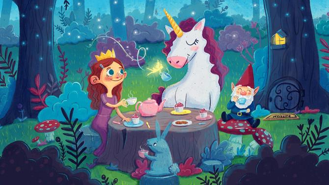 April FREE Kidlit Calendar + Interview with Fresh Princess Illustrator, Gladys Jose!