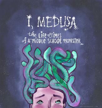 Medusa Mock Book cover by Faith Pray