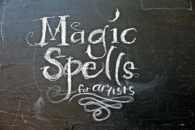 Magic Spells for Artists