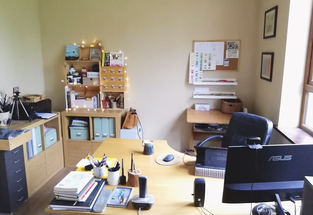 Audrey Dowling's studio