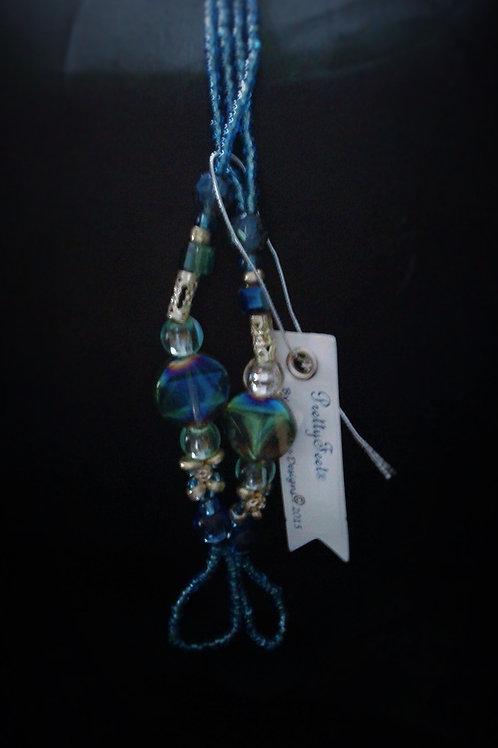 Ocean Blue Glass - M