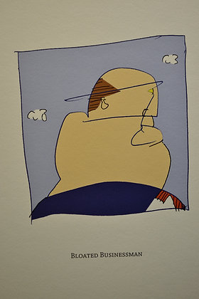 Bloated Businessman