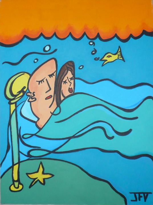 Sleeping Underwater