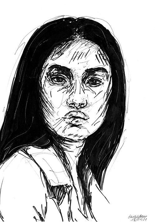 Young Woman Sketch 2