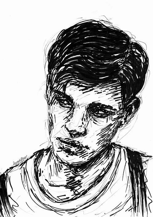 Young Man Sketch 4