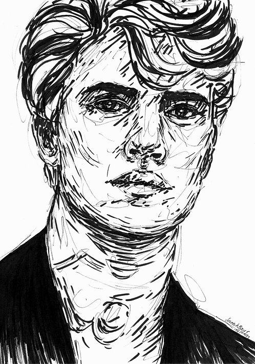 Young Man Sketch 5