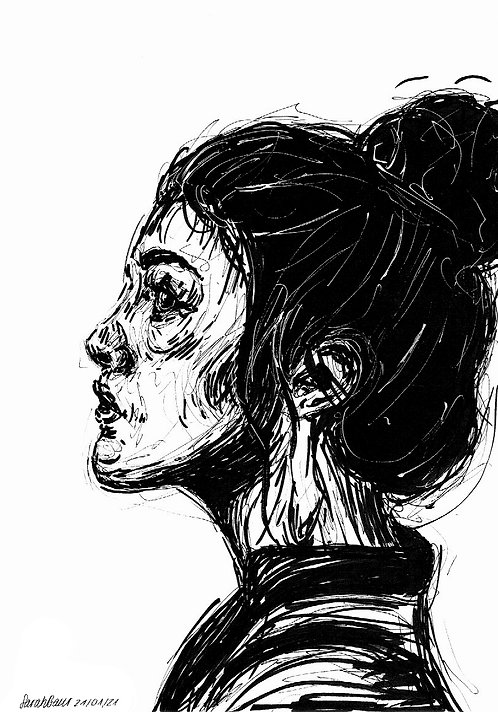 Young Woman Sketch 3