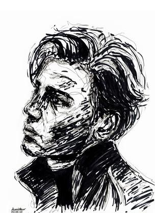 Young Man Sketch 1