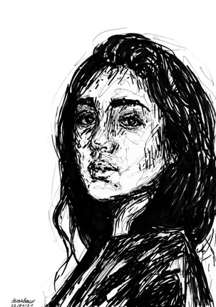 Young Woman Sketch 4