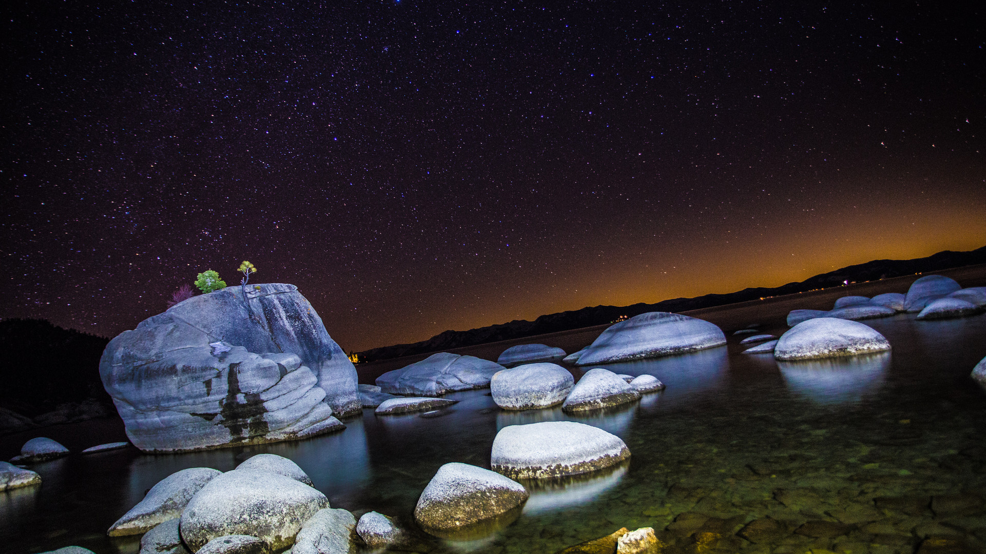 Bonsai Rock, Tahoe