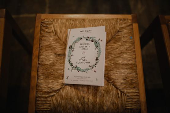 FOLIGE WREATH Order of Service Booklet