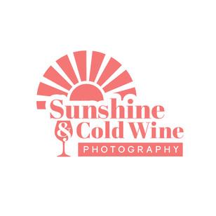 SUNSHINE AND COLD WINE LOGO