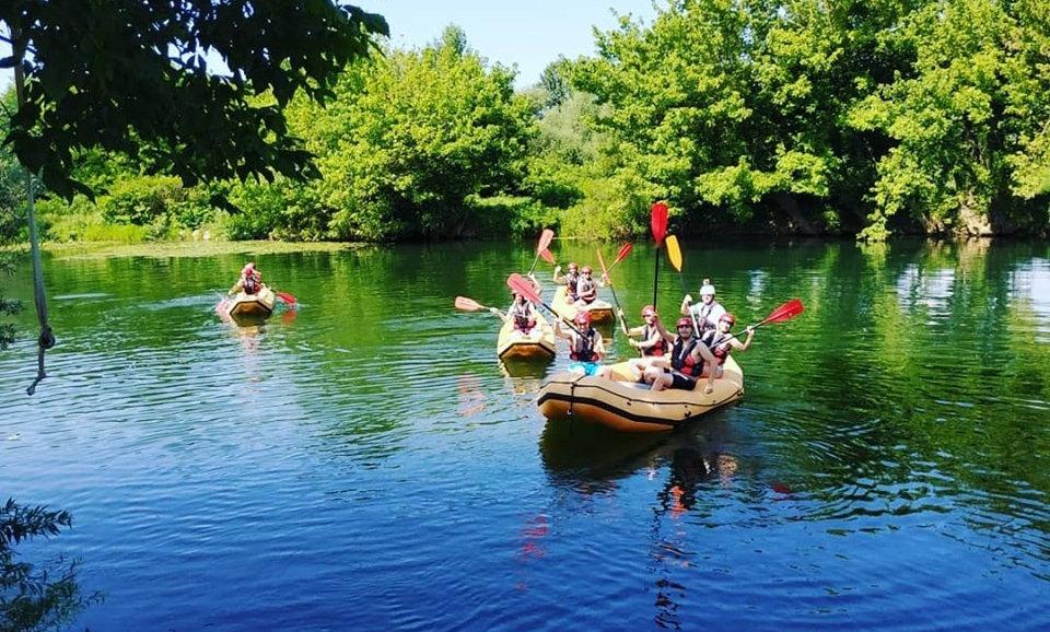 Safari Rafting Kroz Karlovac