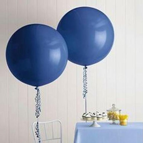 "Giant Navy Balloon - 36"" Latex"