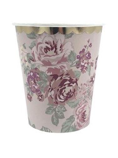 Vintage Floral - Cups