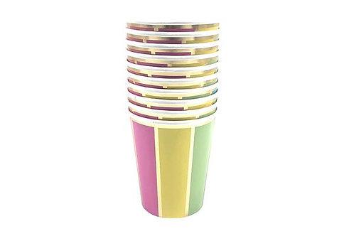 Colour Wheel Cups (set of 10)