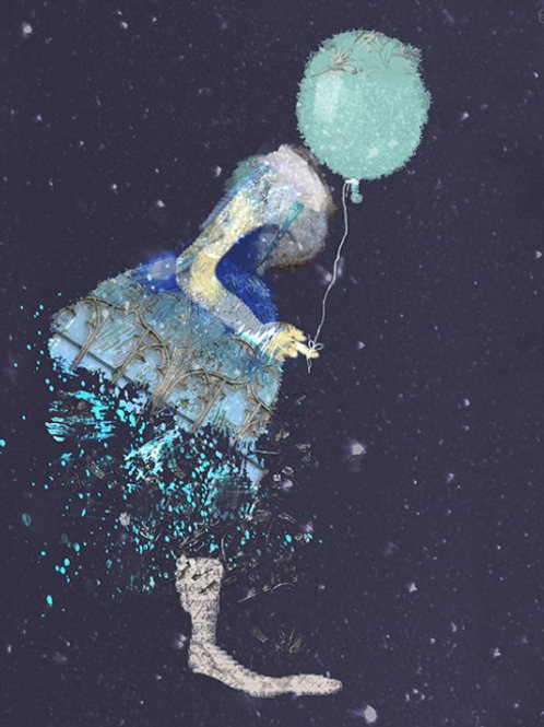"""Canvas """"W letnim deszczu"""""""