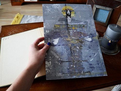 """Grafika """"Jezus ze Skandynawii"""", A4"""