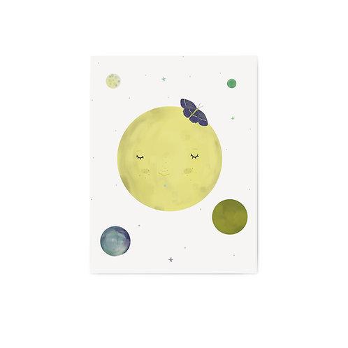 """Grafika """"Księżycowo II"""""""