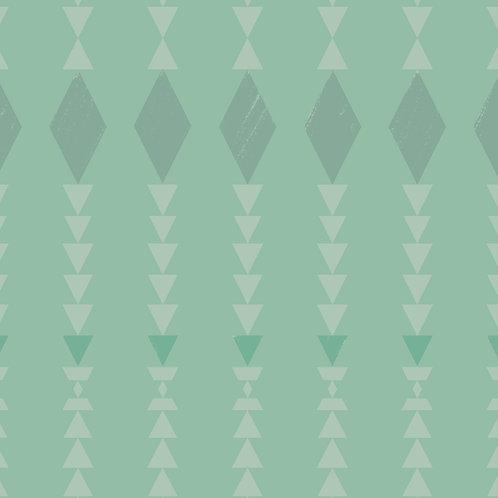 """Ekologiczna tapeta flizelinowa """"Mint kilim"""""""
