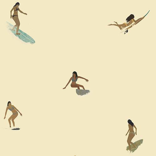 """Ekologiczna tapeta flizelinowa """"Surf it!"""""""