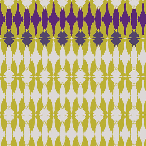 "Ekologiczna tapeta flizelinowa ""Woodpeckers in yellow"""