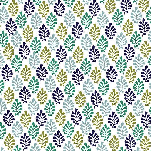 "Ekologiczna tapeta flizelinowa ""Vintage leaves"""