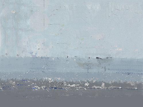 "Canvas ""Gołębi błękit"""