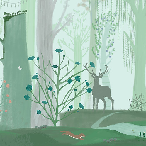 "Folia meblowa ekologiczna ""My magic place"""