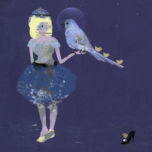 """Canvas """"Ona i ptak"""""""