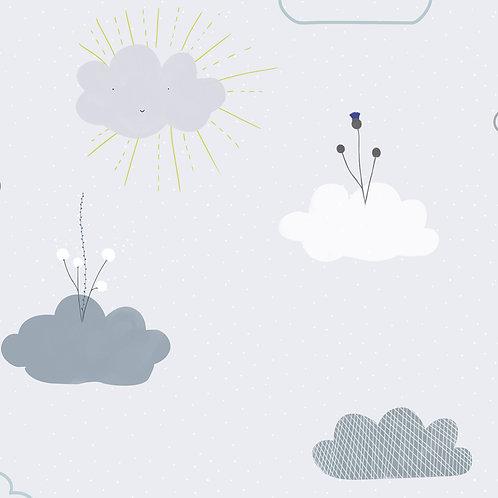"""Ekologiczna tapeta flizelinowa """"Clouds"""""""