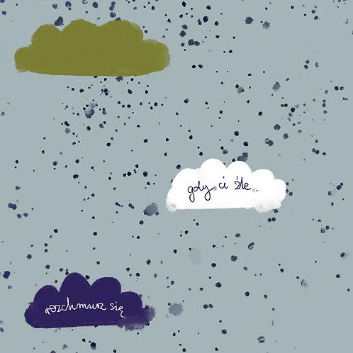 """Ekologiczna tapeta flizelinowa """"Clouds flow"""""""