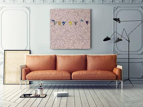 "Canvas ""Pastel romance"""