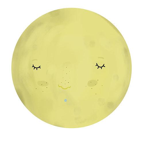 "Naklejka ścienna ""Moon"""