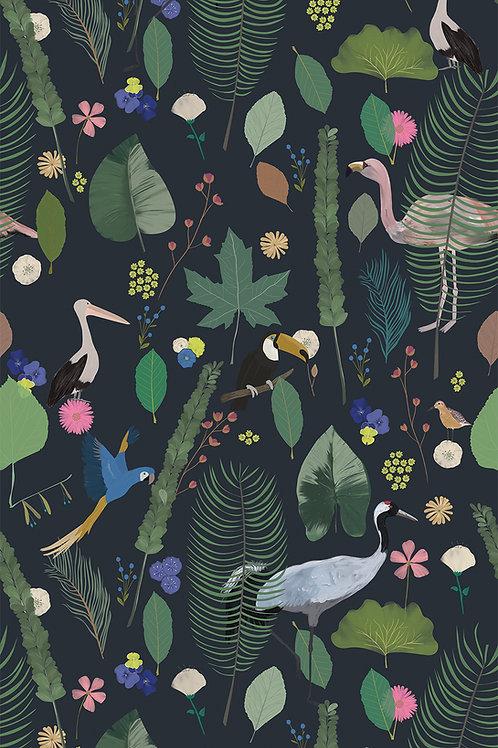"Ekologiczna tapeta flizelinowa ""Deep magic"""
