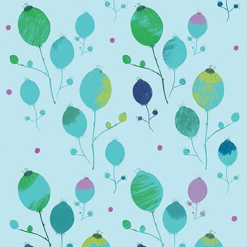"""Ekologiczna tapeta flizelinowa """"Pastel buds"""""""