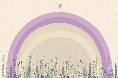"""Ekologiczna tapeta flizelinowa """"Rainbow"""""""