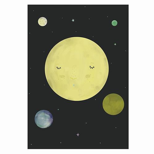 "Grafika ""Księżycowo"""