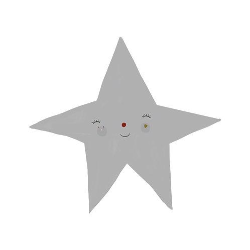 "Naklejka ścienna ""Gray star"""