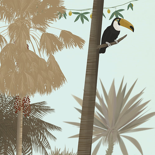 """Ekologiczna tapeta flizelinowa """"Zona tropical"""""""