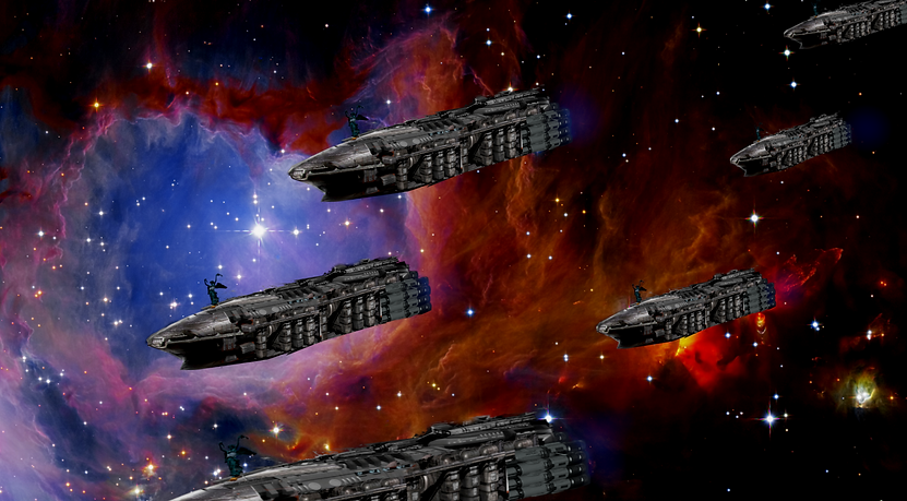 The Empyraen Arks Spread into the stars