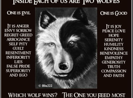 The Wolf You Feed - The Trinity