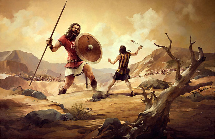 David and Goliath - The Chronicles of Enoch